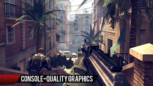 modern combat 4 - best mobile graphics of 2013