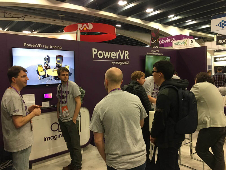 IMG booth GDC17