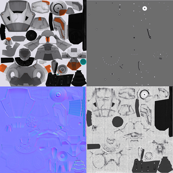 Drone input textures