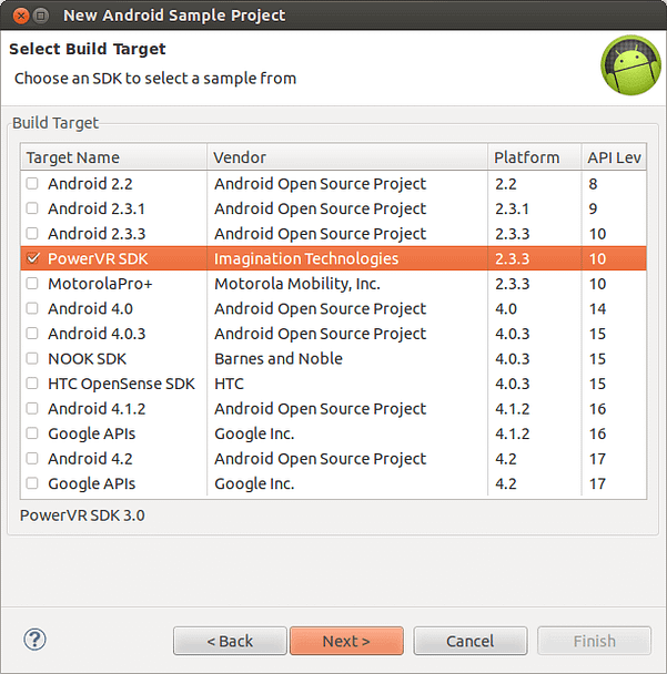 New Android SDK Sample Project _012
