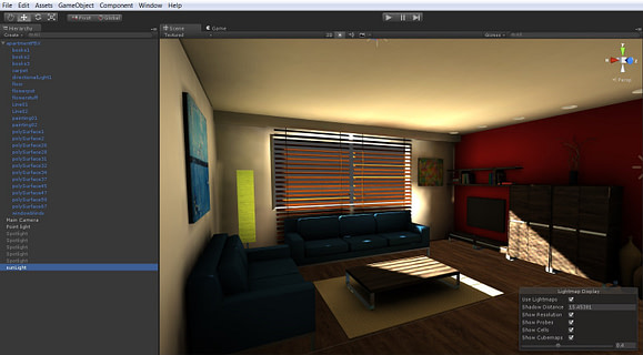 _Unity 5 Lightmap Preview editor - PowerVR Ray Tracing