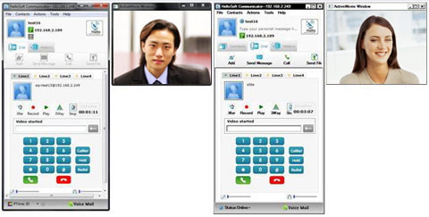 Hellosoft Social Communicator WLC (White Label Client) for social networking