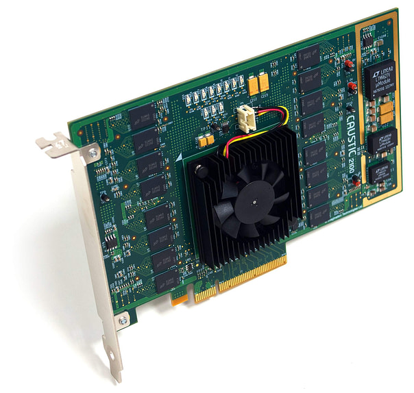 Caustic R2100 Ray Tracing Accelerator Board