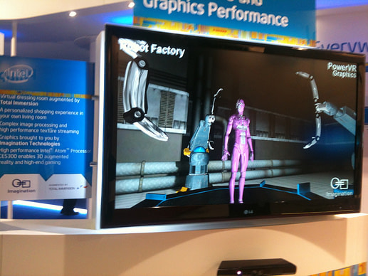 IFA and IBC: Intel booth displaying platforms based on PowerVR graphics