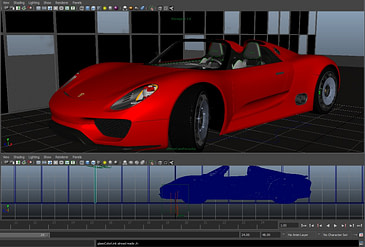 _Autodesk_Maya_porsche_high_quality_render develop3d live