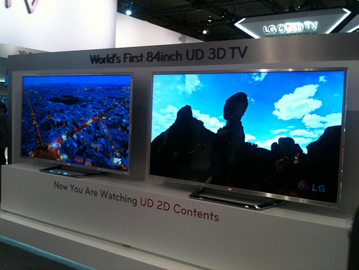IFA and IBC: LG 84-inch 4K 3DTV