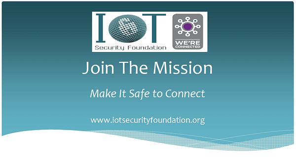 IoT Security Foundation - mission