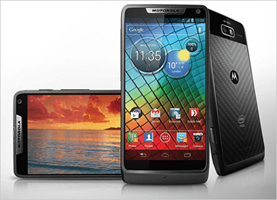 Imagination's List-o-mania: smartphones, tablets and handheld consoles (best of 2012): motorola razr i