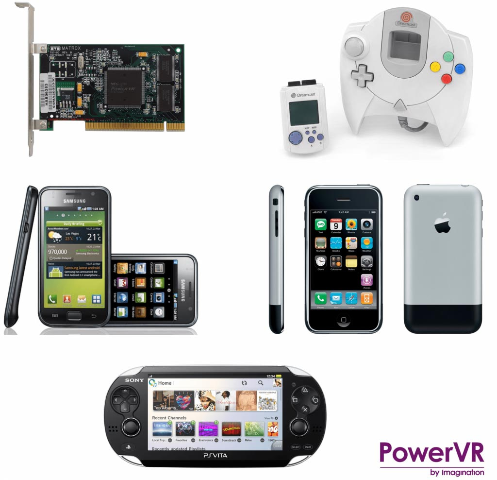 Five iconic PowerVR devices 1 e1539355107272