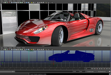 _Autodesk_Maya_porsche_Caustic_Visualizer_R2500 develop3d live