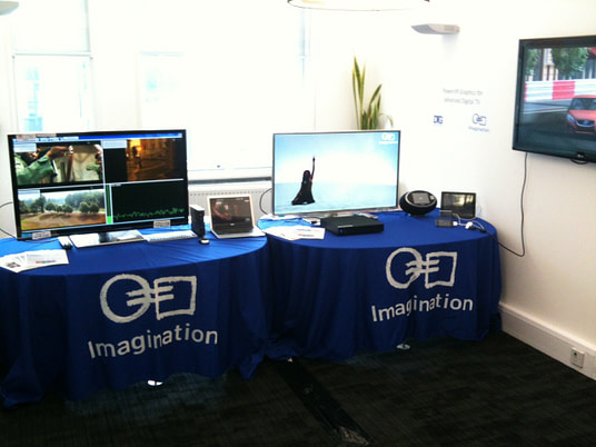 Driving the Future of Innovation in Television Technology - Imagination booth