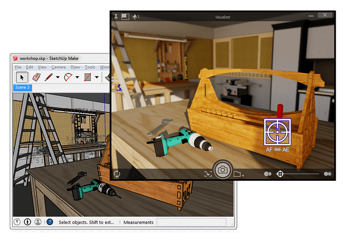Visualizer for SketchUp_1