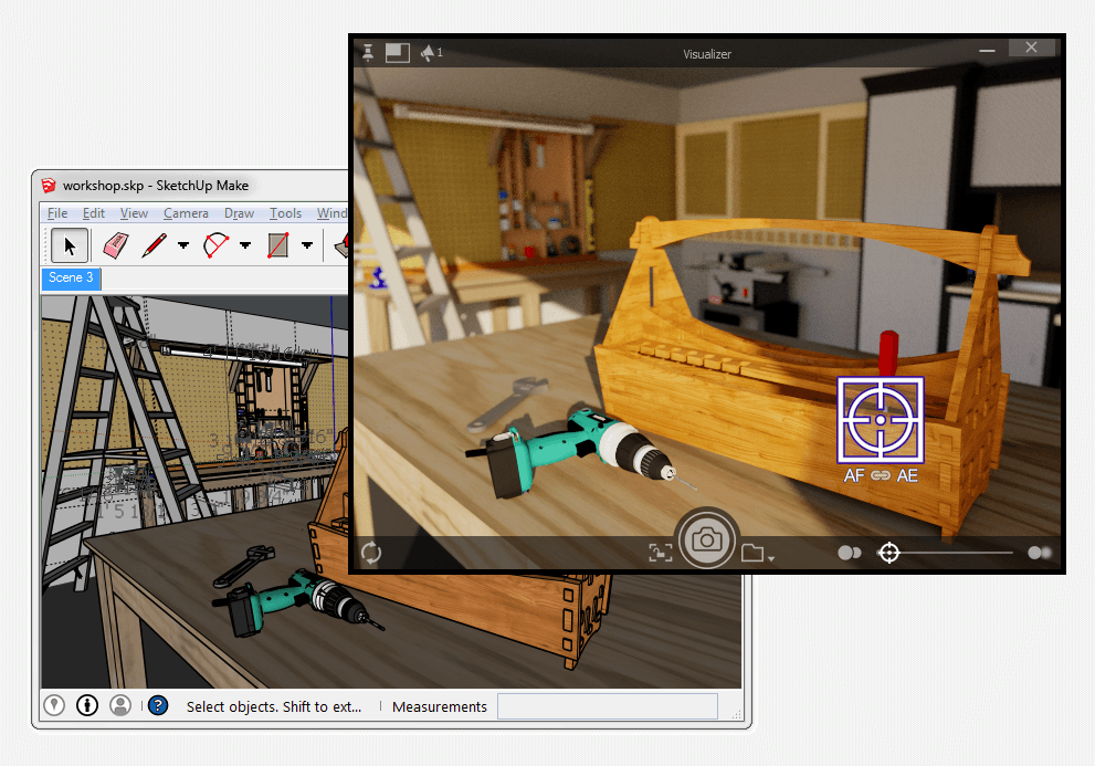 Visualizer for SketchUp 1 1