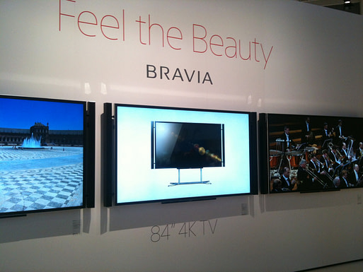 IFA and IBC: Sony KDL-84X9000 4K TV