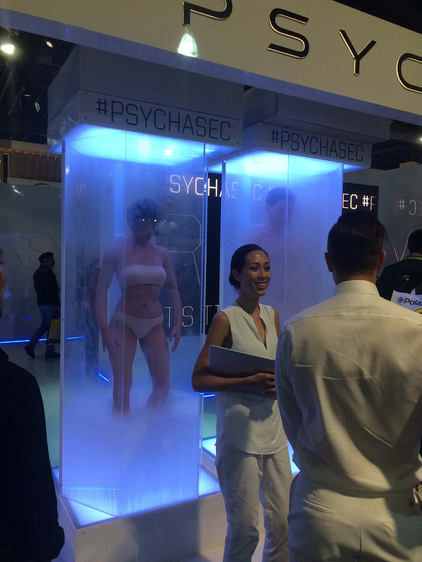 Altered Carbon at CES 2018