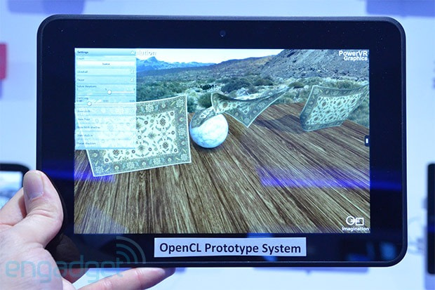 Imagination's PowerVR GPUs running OpenCL on Amazon's Kindle Fire