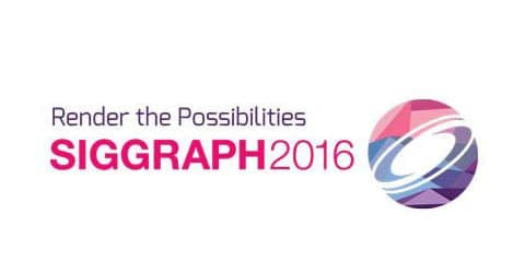 siggraph 2016 events logo