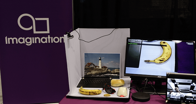 Embedded Vision Summit - PowerVR GPUs running CNN demo