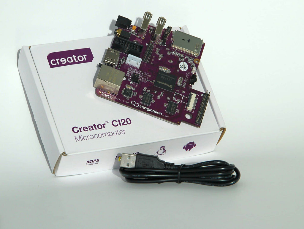 Creator CI20 board and package 3 1