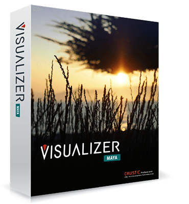 Caustic's Vizualizer plugin for Maya
