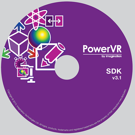 PowerVR SDK GDC 2013 DVD