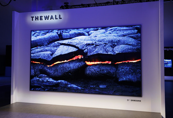 Samsung Wall MicroLED CES 2018