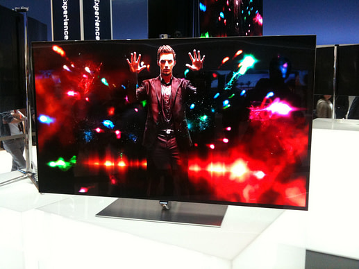 IFA and IBC: Samsung OLED TV