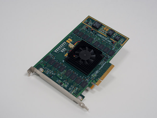 Caustic Professional Series2 R2100 raytracing PC board