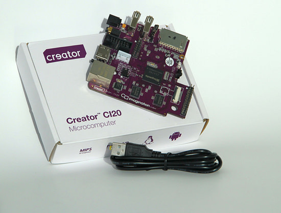 Creator CI20 - board and package (3)