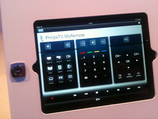 IFA and IBC: Philips tablet remote