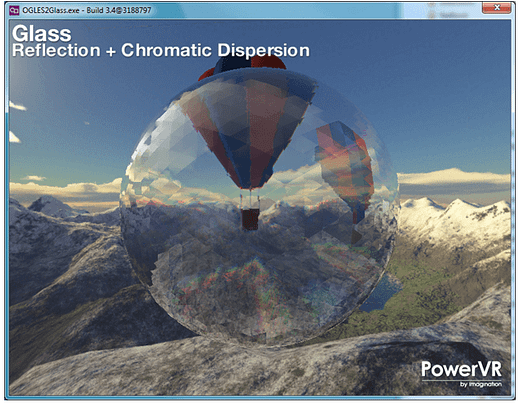 PowerVR SDK - reflection + chromatic dispersion (1)