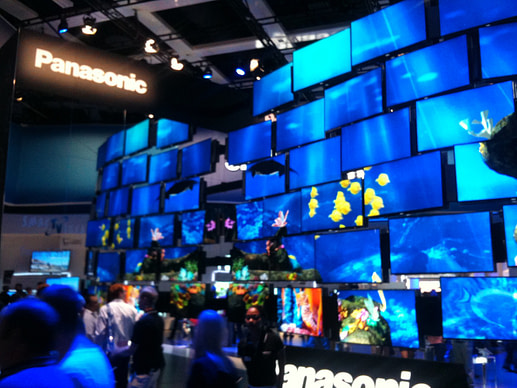 IFA and IBC: the Panasonic aquarium