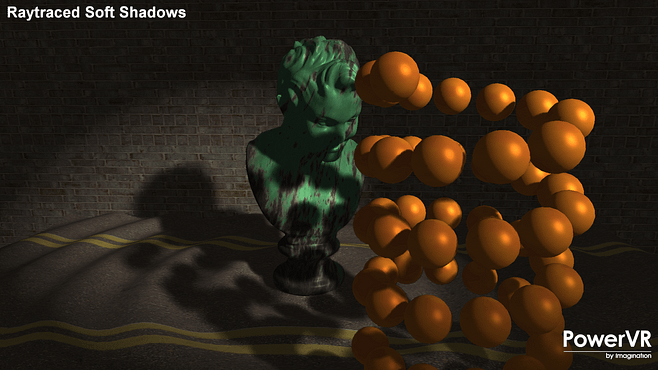 Raytraced Soft Shadows