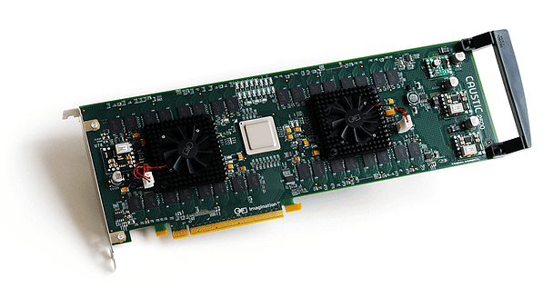 Caustic R2500 Ray Tracing Accelerator Board