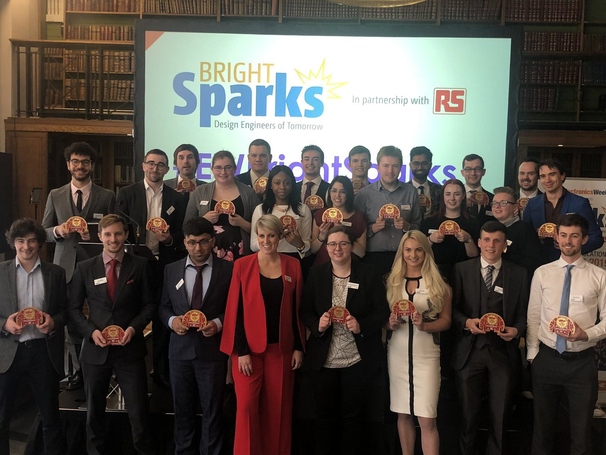 EW brightSparks 2019 winners plus Steph McGovern