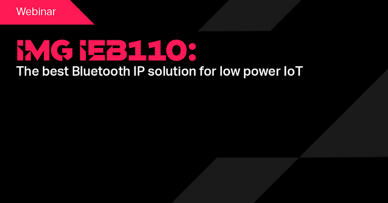 IMG iEB110 Bluetooth IP Solution