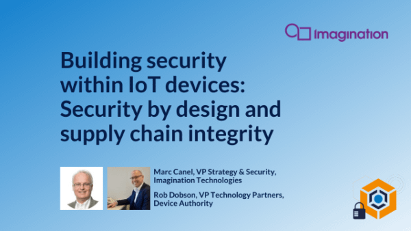 Building security within IoT devices
