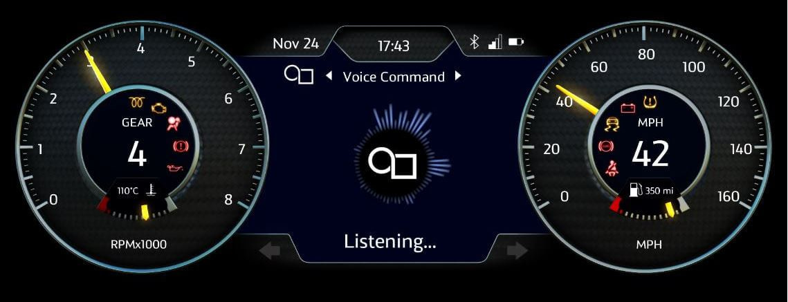 Example of a voice assistant for an automotive use case