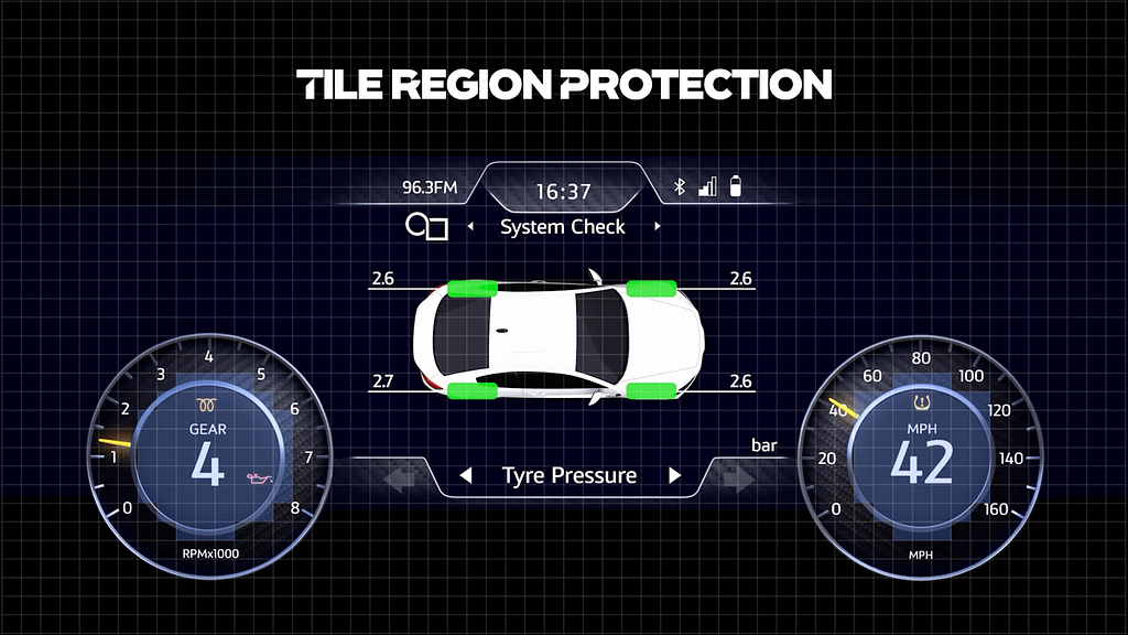 XS tile region protection