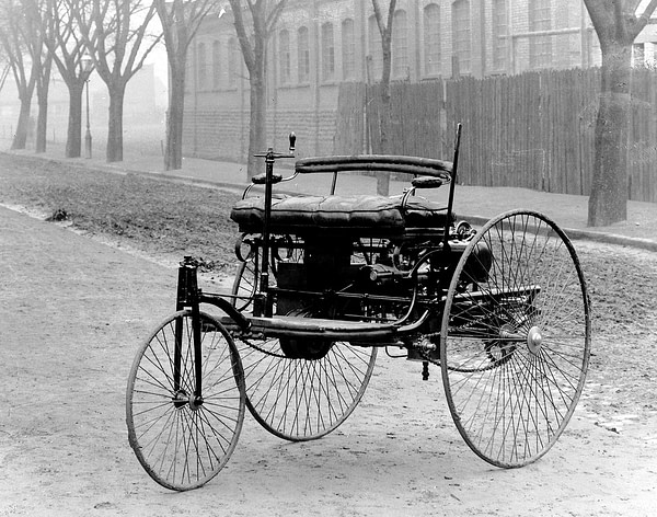 The first car, by Mercedes Benz