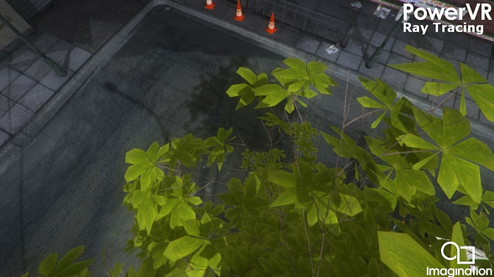 Hybrid ray tracing in a rasterized game engine - hard shadows (2)