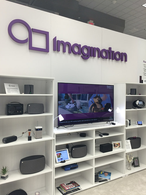 Imagination at CES 2015 - booth (2)