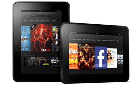 Imagination's List-o-mania: smartphones, tablets and handheld consoles (best of 2012): amazon kindle fire hd