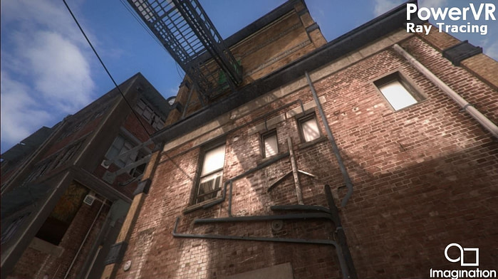 Hybrid ray tracing in a rasterized game engine - hard shadows (3)