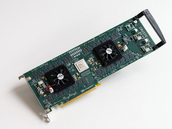 Caustic Professional Series2 R2500 raytracing PC board