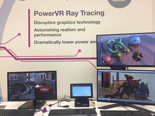 PowerVR Wizard Ray Tracing at CES 2015