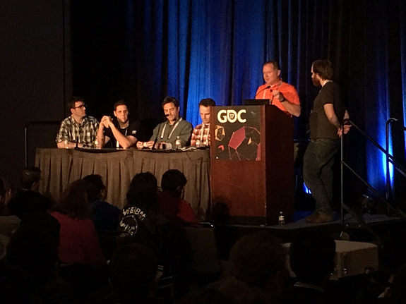 IMG panel session GDC17