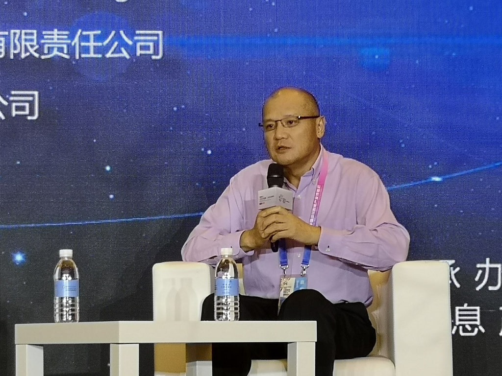 James Liu, Vice President of Imagination Technologies and General Manager of China