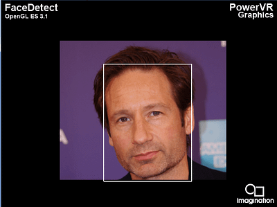 PowerVR Rogue - OpenGL ES 3.1 - FaceDetect - a1