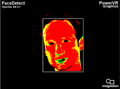 PowerVR Rogue - OpenGL ES 3.1 - FaceDetect - a3